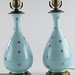 265. Pair of French Porcelain Table Lamps