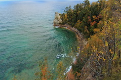 Miner's Castle (Cole Chase Photography) Tags: autumn fall canon october fallcolor michigan upperpeninsula lakesuperior t3i picturedrocks picturedrocksnationallakeshore minercastle