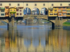 Ponte Vecchio, the Old bridge in Firenze, Italy (Frans.Sellies (off for a while)) Tags: italien bridge italy heritage architecture reflections river geotagged florence italia colours bridges unescoworldheritagesite unesco worldheritagesite tuscany pont firenze brug arno toscana toscane renaissance unescoworldheritage italie pontevecchio worldheritage florenz weltkulturerbe whs toskana florens riverarno vasari patrimonio rivier worldheritagelist welterbe bruggen gaddi kulturerbe patrimoniodelahumanidad heritagesite unescowhs giorgiovasari ph412 patrimoinemondial werelderfgoed vrldsarv  taddeogaddi heritagelist  werelderfgoedlijst verdensarven          p1010226 blinkagain geo:lat=4376791866392782 geo:lon=11253365018029854