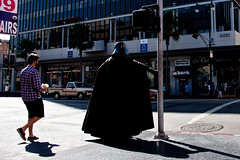 Crossing to the dark side (Daniel Zambrano) Tags: california las dark de la starwars los side guerra darth lado vader sith oscuro ángeles galaxias