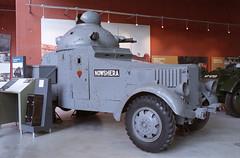 More from Bovington (color) (Ronald_H) Tags: chevrolet film car museum nikon pattern tank military indian vehicle em 2010 bovington crossley armoured e19514