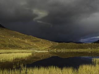 Glen Cannich Storm Clouds - Explore 21/10/2012