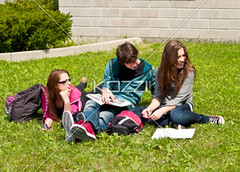 teenage friends sitting on campus grass (edunaza8877) Tags: girls friends boy male beautiful beauty grass smart modern female bag campus outdoors reading togetherness student holding education pretty day sitting technology friendship fulllength cellphone handsome teenagers books learning headphones companion studying casualwear bonding textbooks lookingaway frontview caucasian schoolbag companionship youthculture teenagegirls casualclothing teenageboy threepeople universitystudent 1617years teenagersonly personineducation secondaryschoolchild personinfurthereducation