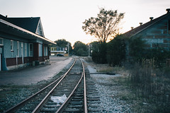 Railway Station (jacksatron) Tags: railroad light canon 28mm photoaday 60d