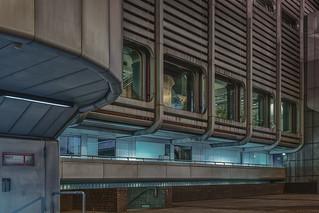 Detail of the International Congress Center Berlin
