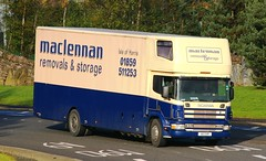 SCANIA 220 94D - MACLENNAN Removals & Storage Isle of Harris Western Isles Scotland (scotrailm) Tags: vans trucks removals lorries