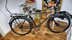 Wanderer Fahrrad 1938 -  (1) (ts_83) Tags: 1938 rad oldtimer oldie fahrrad wanderer vintagebike vintagebicycle waffenrad herrenrad vorkriegszeit veloancien getrieberad