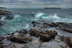 Waves off Scoville Point (yooper1949) Tags: lakesuperior isleroyalenationalpark