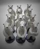 Polarbears (danahaneunjeong) Tags: bear ceramic doll polarbear polar 인형 곰 북극 북극곰