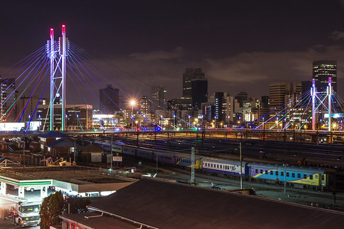 Johannesburg at night
