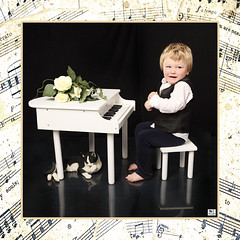 """""   (MissSmile) Tags: boy portrait music cute studio child sweet framed id adorable misssmile"
