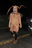 Jack Whitehall leaving a Halloween party held at the home of television presenter Jonathan Ross. London, England