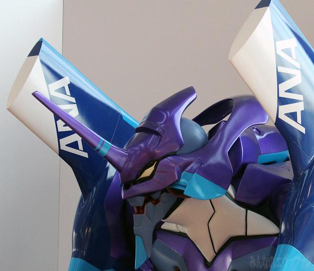ANA x Evangelion 福音戰士初號機 ANA航空配色