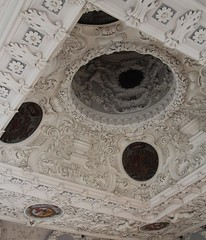 (Gerlinde Hofmann) Tags: white castle café germany town curvy thuringia ceiling schloss rococo meiningen rokoko schlosselisabethenburg