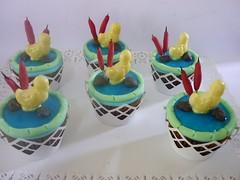 Cupcakes e Mini Bolos (A Magia do Sabor) Tags: cupcakes muffin bolinho minibolos cupcakeinfantil cupcakepatinho