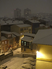 Snow in Istanbul (CyberMacs) Tags: snow weather turkey trkiye places istanbul trkorszg beikta constantinoble othernames