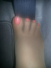 my car won't start (Stalled In Nylons) Tags: pink woman feet stockings car female start nude spread shiny toes soft pretty driving natural polish gas suntan unas pantyhose pedal wont medias nylons sheer pushing pumping stalled stalling seams collants cranking sandalfoot