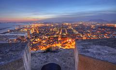 Cannon Over Alicante (Fotomondeo) Tags: espaa valencia night lights evening luces noche spain alicante tarde