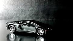 Aventador Black -5 (difenbaker) Tags: hotwheels 164 lamborghini nokian8 blacklambo lamborghiniaventador