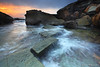 Forresters Beach (andrepavini) Tags: ocean sea seascape beach sunrise landscape australia nsw centralcoast forresters