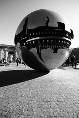 Vatican 2 (gsamie) Tags: blackandwhite italy vatican rome roma canon globe italia vaticano sphere sanpietro t3i latium 600d gsamie guillaumesamie