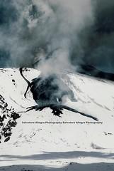 Front view (Vulcanian) Tags: sky ski clouds volcano lava crater cielo ash sicily inverno etna eruption catania sicilia magma vulcano cratere lavaflow cenere colata eruzione valledelbove colatalavica