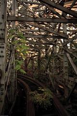 Bowels of a bone dragon (cashonly77) Tags: japan ruin nara abandonedbuilding urbex haikyo naradreamland abandonedthemepark