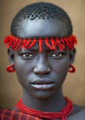 Miss Domoget, Bodi Tribe Woman With Headband, Hana Mursi, Omo Valley, Ethiopia (Eric Lafforgue) Tags: africa portrait pierced people haircut color cute art girl beautiful beauty proud real outside photography necklace clothing colorful day outdoor earring culture pride jewelry ornament adobe beautifulwoman omovalley colourful ethiopia pastoral ethnic hairstyle beautifulpeople bodymodification oneperson headband jewel onepeople determination confidence headwear hornofafrica ethnology bodi omo eastafrica onepersononly colorimage lookingatcamera beautify meen oneyoungwomanonly oneteenagegirlonly africanethnicity pastoralist pastoralism onegirlonly oneyounggirl bodytransformation oneadult oneteenageronly ethiopianethnicity oneteenager hanamursi eth7505