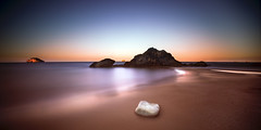 kefalonia (richard carter...) Tags: longexposure sea seascape beach canon dawn rocks calm crop kefalonia deserted blahblahblah 1635 ionian widescreeen eos5dmk2