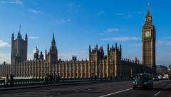Houses of Parliament (MarcoLostia) Tags: london westminster town taxi housesofparliament londra citta thebigbang
