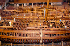 CU468 Model of Sailing Ship Dockyard (listentoreason) Tags: wood usa art philadelphia america canon model play unitedstates pennsylvania favorites places pennslanding artproject scalemodel woodmodel score35 ef28135mmf3556isusm woodenmodel independenceseaportmuseum philadelphiamaritimemuseum