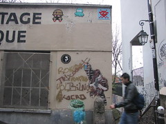 Space Invader PA_745 (deleted) (tofz4u) Tags: street people streetart paris tile graffiti stencil mosaic tag spaceinvader spaceinvaders deleted invader rue mosaque pochoir artderue 75020 smot janaundjs mettaur gzup desactivated pa745