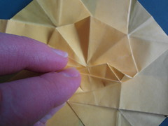octagonal star, tutorial 1 (Dasssa) Tags: star origami decoration tutorial octagon twistedbox dasssa