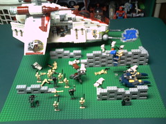Lego Star Wars MOC: Reinforcements Arrive (Unknown Brick Films) Tags: star lego creation wars own moc
