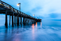 Capitola Pier (andertho) Tags: california longexposure blue motion blur water sunrise pier cool fishing nikon hour bluehour uncool capitola sfist risingtide cool2 cool5 cool3 cool6 cool4 cool7 uncool2 iceboxcool