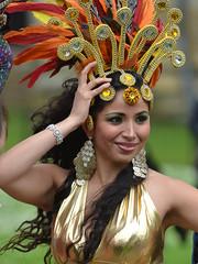 Carnival Dress at York Minster Gardens (Steve Barowik) Tags: york carnival music colour fun costume nikon display drum yorkshire feathers band celebration procession jolly minster celebrate highspeed wonderfulworld nikon70200mmvr quantumentanglement flickrelite d7000 barowik stevebarowik sbofls26