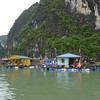 Floating village, Ha Long Bay, Vietnam