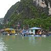 Floating village, Ha Long Bay, Vietnam