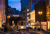 Powell Street (sirgious) Tags: sanfrancisco dusk cablecar unionsquare powellstreet sftr