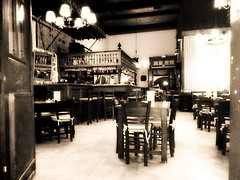 Arion Caf - Skala (Insempi) Tags: patmos skala bar arion caf caff old vintage