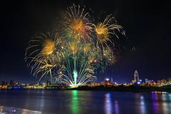 _5(DSC_0878) (nans0410(busy)) Tags: taiwan newtaipeicity sanchong valentinesday fireworks danshuiriver dadaocheng outdoors scenery     2016