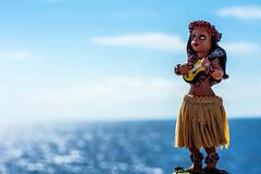 little hula girl (-gregg-) Tags: hula girl cruise ship vacation ocean water sea sky clouds railing