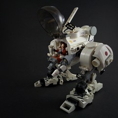 Moon Walker (Marco Marozzi) Tags: lego legomech legodesign moc mecha maschinen krieger walker dieselpunk minifigure mak