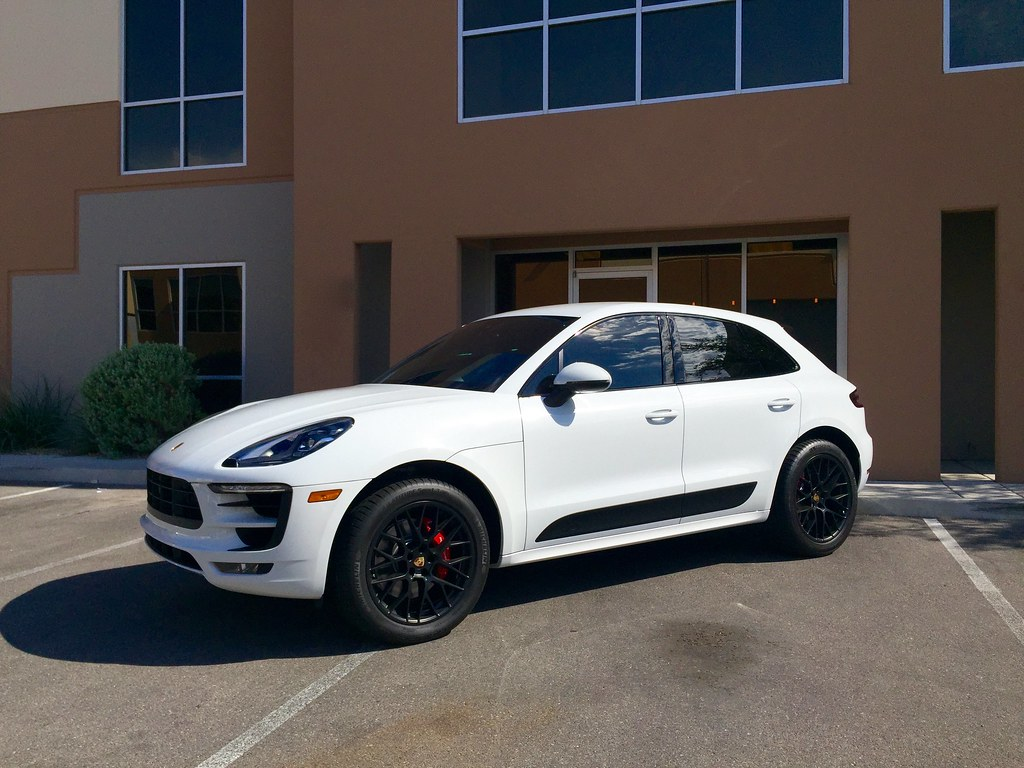Pro Tect Film Powered By Xpel 2016 Porsche Macan Gts White