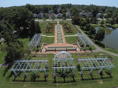Lakeside Park (john_mcgauley) Tags: lakeside park fort wayne indiana drone gardens summer august greenery