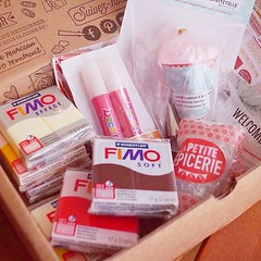 Lovely package from La Petite Epicerie #lapetitepicerie #fimo #miniature (_matango_) Tags: miniature dollhouse polymerclay miniaturefood food doll bjd