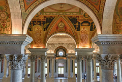 Across the Hall at the Library of Congress (World Photo Day) (Geoff Livingston) Tags: linrary congress world photo photography day worldphotoday libraryofcongress dc washington