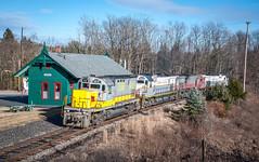 Alco Fleet 3-5-16 (Daniel J. Kirby) Tags: cresco danieljkirbyphotography delaware lackawanna lehigh pennsylvania valley pa
