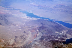 Aerial view of Lake Mead, Lake Mead National Recreation Area, Nevada (cocoi_m) Tags: aerialphotograph aerial nature geology geomorphology lakemead lakemeadnationalrecreationarea nevada echobay stewartspoint