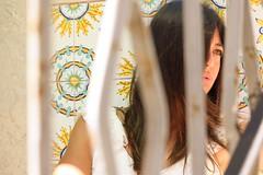 Into the trap (usurfaru_) Tags: sicilia sicily colors eye eyes woman women portrait people beautiful pretty favignana lady girl